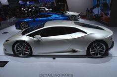Mondial de l'automobile Paris 2014 - Stand Lamborghini Huracan LP 610-4
