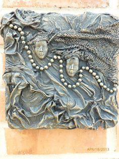 Daily Free Take-Out: DIY: Hardened fabric sculpture