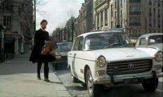 UN TAXI DANS PARIS - 1970