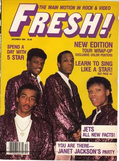 N.E ON THE COVER OF FRESH