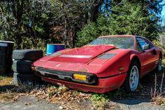 Abandoned Ferrari 308 Quattrovalvole