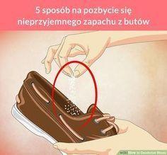 5 sposób na pozbycie się nieprzyjemnego zapachu z butów