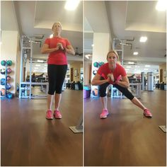 Core, Hip and Glute Routine - Side Lunge - Coach Debbie Runs