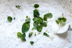 Hvit pizzasaus Pizza, Plants, Planters, Plant, Planting