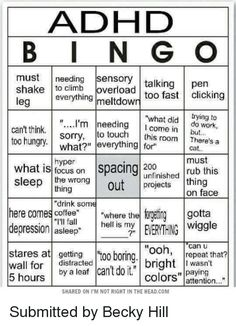 I'm literally all of these : adhdmeme