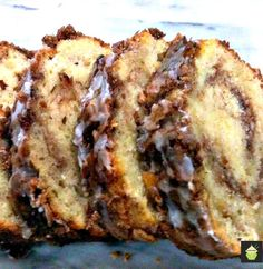 Easy Cinnamon Swirl Loaf A moist, soft and wonderful tasting loaf cake, perfect with a morning coffee!  #loaf #cake #cinnamon #easyrecipe
