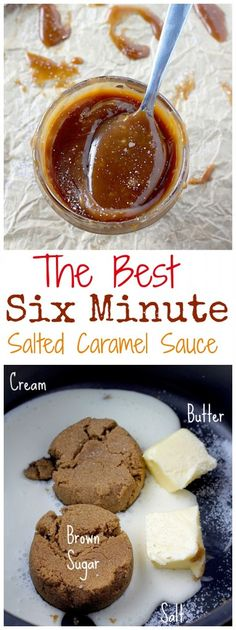 6-Minute Small Batch Salted Caramel Sauce