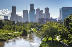 Buffalo Bayou Park. All images by Jonnu Singleton via SWA. In 1972, when boaters raced around the Buffalo Bayou, which threads through the center of Houston, they called their...