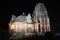 Rajarani (11th Century AD), the temple composed of temples, is a variety by itself. The structure rising to a height of 17.98 meters in fine grained yellowish sand stone presents a dramatic sequence in temple building activities.