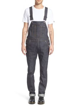 e6b02d1475f Free shipping and returns on Naked  amp  Famous Denim Overalls (Left Hand  Twill Selvedge