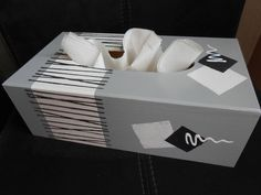 1000 images about boite mouchoir on pinterest shoe box for Boite de mouchoir a decorer