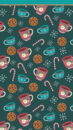 Wallpaper Iphone Art Illustrations Gift Wrapper New Ideas Christmas Phone Wallpaper, Winter Wallpaper, Holiday Wallpaper, Trendy Wallpaper, Cute Wallpapers, Christmas Phone Backgrounds, Cellphone Wallpaper, Iphone Wallpaper, Poster Photo