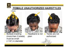 Do New Army Regulations Unfairly Target Women with Natural Hair? | Black Girl with Long Hair