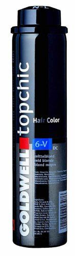 """Goldwell Topchic Color 6KR 8.6 oz. Formulated with Color Link, a patented technology that allows color molecules to """"link"""" together. Goldwell Topchic Professional Hair Color is the """"Winner Of The Stylist Choice Award"""" for best professional hair color. Get the desired effect. Must be used with Goldwell Measuring Bowl to dispense color from canister. The Color Depot System guarantees exact dispensing and mixing. Accurate. Impeccable quality. Achieve your target color every time with..."""