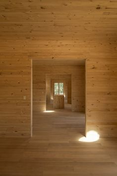 Incredible South American wooden architeture: Meri House byPezo Von Ellrichshausen.