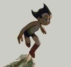 Astroboy by brainblower on DeviantArt Fighting Robots, Ashley Wood, Astro Boy, Popular Anime, Mid Autumn, Chibi, Me Me Me Anime, Scooby Doo, Poses