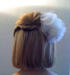 Medium Bob Hair Styles for Wedding