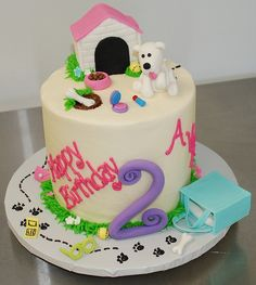 Puppy Birthday Cake,