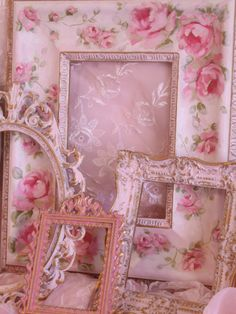 Easy And Cheap Diy Ideas: Shabby Chic Pink Doll Houses shabby chic boda. Shabby Chic Mode, Estilo Shabby Chic, Shabby Chic Pink, Shabby Chic Living Room, Shabby Chic Bedrooms, Shabby Chic Kitchen, Vintage Shabby Chic, Shabby Chic Style, Shabby Chic Furniture