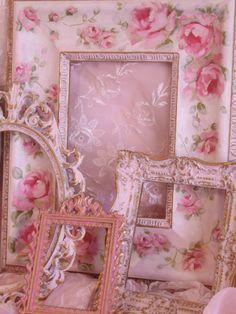 pink frame lot