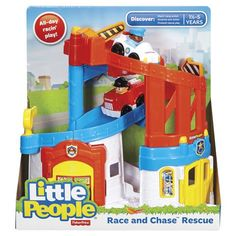 Little People Race And Chase Rescue