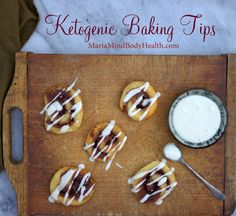 Ketogenic Baking Tips - If you are trying to cut sugar and carbs out of your life and want to know how to make the tastiest ketogenic dessert with ketogenic natural sweeteners without the bitter aftertaste or cooling effect in your mouth, I want to tell you my Ketogenic Baking Tips!
