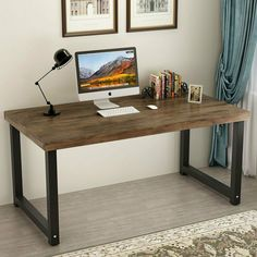 23 best rustic computer desk images desk rustic office writing rh pinterest com