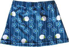 Fabrik der Träume: Gratis Nähanleitung und Schnittmuster für einen Mädchenrock mit elastischem Bund.
