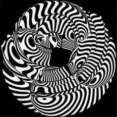 Franco Grignani, Spiral induction, 1960s [from GARADINERVI] E Design, Graphic Design, Logo Sketches, Photo Logo, Design Graphique, Art Abstrait, Sculptures, Images, Art Gallery