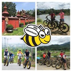 """Choose hilly?""  🐝🚴♀️🚴🏼♂️ #buzzybeebike #chiangmai #thailand #ebike #ebiking #fatbike #fatbiking #cyclingtour #cycling #electricbicycle #thailandtravel #lovethailand #amazingthailand"
