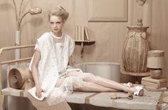 "Duchess Dior: ""Leaving Home"" Anastazja Nieman for L'Officiel Ukraine June 2015"