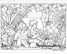 Free Printable Coloring Pages Of Fairies For Adults