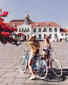 Kota Tua (Old Town), a place where the history of Jakarta begins, Photo by: IG Old Town Florida, Greece Drawing, Greece Girl, Town Drawing, Greece Wallpaper, Greece With Kids, Old Town San Diego, Old Town Alexandria, Old Town Square