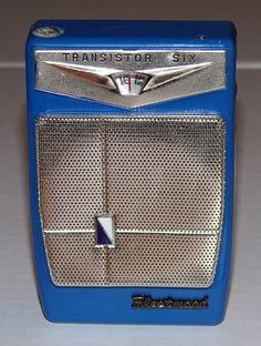 Vintage Fleetwood 6-Transistor Radio (No Model Number), Made in Japan.