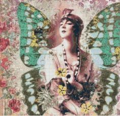 ~Freed from the bondage of her cocoon, she emerges in brilliant colors of life. Rising in all her beauty, on a journey guided by her soul, with her course set to experience love in all its glory, she embraces her creation. She is the Butterfly Woman~ Image By artfire.com