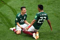 México golpea a Alemania 1-0 en su primer enfrentamiento en el Mundial