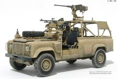 MMZ - Defender XD Wolf W.M.I.K제 Plastic Model Kits, Plastic Models, Landrover Series, Military Special Forces, Bug Out Vehicle, Military Modelling, Army Vehicles, Military Weapons, Land Rovers