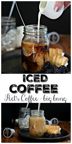 Cool and caffinated - Iced Coffee #coffee #icedcoffee  #peetscoffee AD