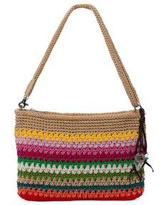 The Sak Classic Mini 3-in-1 Crochet Clutch Handbags   Accessories - Macy s affe51b643