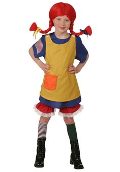 Pin for Later: 200+ Adorable Halloween Costumes For Your Trick-or-Treating Tot Pippi Longstocking