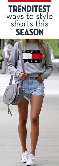Trendiest Ways To Style Shorts This Season