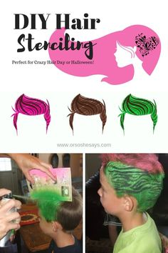 6e7c001f5697d DIY Crafts   DIY Hair Stenciling ~ The Hot New Thing! (she  Roberta) - Or  so she says