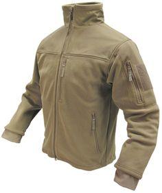 Condor Outdoor Alpha Fleece Tactical Jacket - Reinforced All Weather Jackets