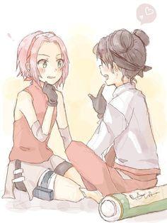 Sakura & Tenten.