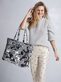 A Closer Look: Midnight Paisley | Vera Bradley