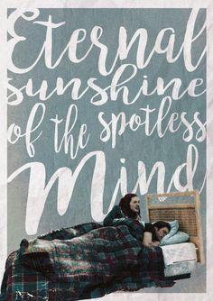 'Eternal sunshine of the spotless mind' Poster on Behance…