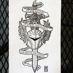 Grey Wardens - Dragon Age Tattoo