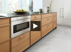 This Just In: Sharp's Sleek Microwave Drawer | Discover the best features of this new kitchen appliance. | #kitchen #kitchendesign #kitchenappliance
