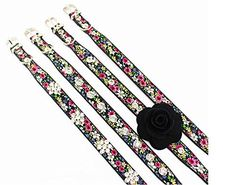 Dogs Kingdom Pet Collars For Dogs Adorable Floral Crystal Rhinestone Pet Collars Designer Dog Collar Black M   Check it out-->  http://mypets.us/product/dogs-kingdom-pet-collars-for-dogs-adorable-floral-crystal-rhinestone-pet-collars-designer-dog-collar-black-m/  #pet #food #bed #supplies