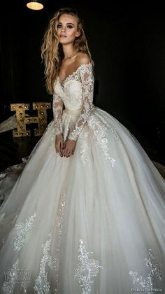 Individual size A-line silhouette Bonna wedding dress. Elegant style by DevotionDresses White wedding dress long sleeves bridal dress off shoulder wedding dress lace white wedding dress Off Shoulder Wedding Dress Lace, Long Sleeve Bridal Dresses, Sheer Wedding Dress, Sweetheart Wedding Dress, Long Wedding Dresses, Wedding Dress Sleeves, Princess Wedding Dresses, Elegant Wedding Dress, Bridal Gowns